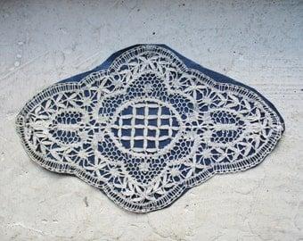Antique french lace, Vintage, Handmade, Crochet, Dentelle ancienne, 1920, Wedding, France