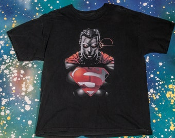 SUPERMAN  Cartoon T-Shirt Size M