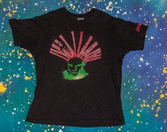 LIVING COLOUR neon T-Shirt Size Xl