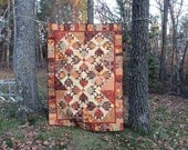 """Jungel Paws Quilt - 62"""" by 85"""""""