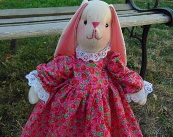 Kari the Stuffed Bunny Rabbit Doll