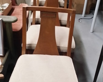 MCM Walnut Dining Chairs Set of Four - SHIPPING is Not FREE! - Contact for shipping