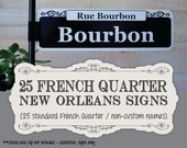 In-Stock New Orleans Signs Set of 25