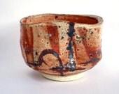 Shino glazed Tea Bowl