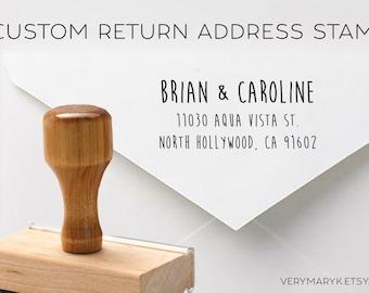 SALE! handwritten wooden return address stamp! custom stamp, personalized stamp, rubber stamp, wood stamp!