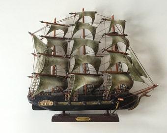Model of the Frigata Espanola Ship