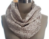 ON SALE: Wuthering Heights Book Scarf