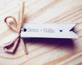 Custom order for Star // 280 Kraft Tags - With Love // Ship Date July 28th