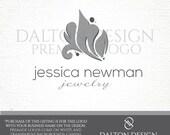Premade Damask Logo - Leaf Logo - Damask Brand - Interior Design Logo - Jewelry Logo - Elegant Logo - Professional Affordable Premade Brand