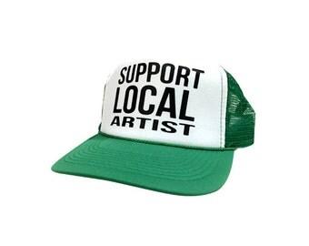 Support Local Artist Trucker Hat