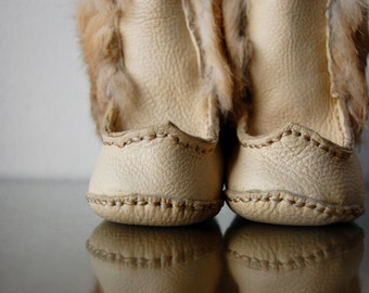Baby Boots ~Soft Sole Leather Muklucks