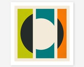 Modern Minimal Abstract Wall Art for the Home Decor, Giclee Fine Art Print, MISSING