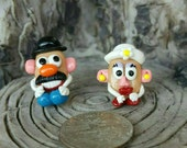 Mr. & Mrs. Potato Head Studs