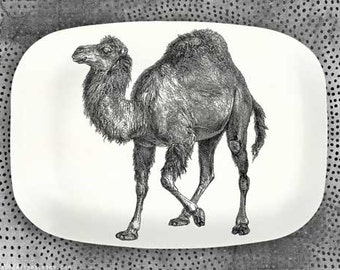 Camel serving melamine platter, Camel No. 1