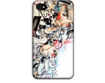 iPhone case - iPhone 4 case - Phone case - Cell Phone case - Phone cover - Art Phone case - Case for iPhone 4 - Cover for iPhone