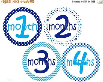 BIG SALE Boy Monthly Stickers Baby Month Stickers Baby Monthly Stickers Baby Boy Stickers Baby Shower Gift