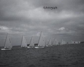 Vintage Sailing Photograph #4