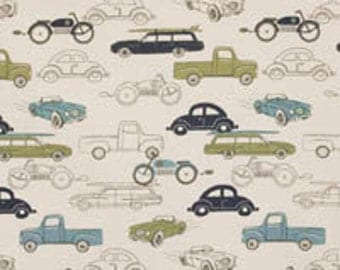 Vintage Cars Curtains or Valance