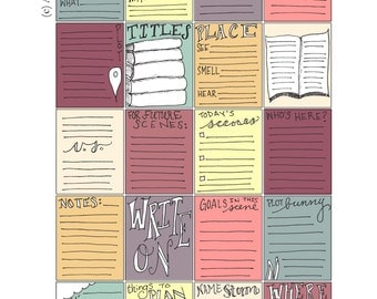 Scene Writing Prompt Stickers  Download