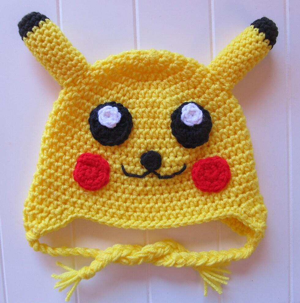 Lujoso Knitted Pikachu Pattern Fotos - Ideas de Patrón de Vestido de ...