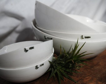 Vintage Chemistry Bowls - Small