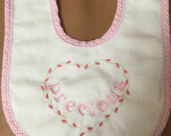 Baby Bib Infant Personalized or Monogrammed