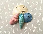 RESERVED HA Sand Dollars & Shells - Ceramic Tile