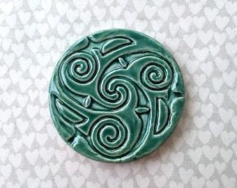 Celtic Circle - Ceramic Tile