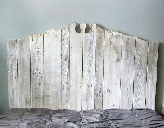 The Martha Reclaimed Barn wood Headboard