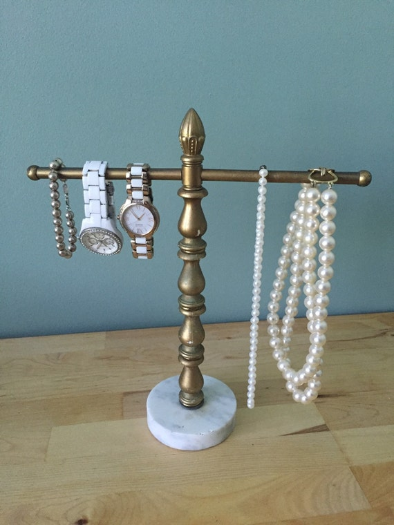 Jewelry organization guest towel holder bathroom storage for Bathroom jewelry holder
