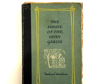 The House of the Seven Gables 1954 Pocket Library Edition
