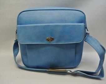 Vintage weekend bag by Samsonite - Robin's egg blue