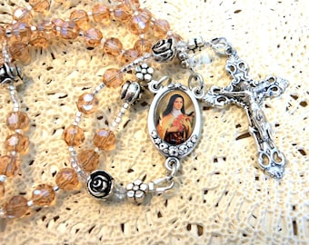 St. Therese of Lisieux Traditional Five Decade Rosary