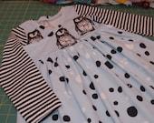 Baby Dress Christmas dress baby girl dress - winter christmas dress - size 5T - in stock