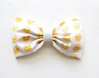 X Bow Emoji Emoji bow | Etsy