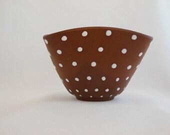 Norwegian Polka Dots Polka Dots Polka Dots….Polka Dot bowl that is