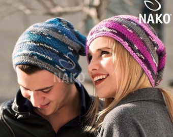 Couples hat set, knitting hats for her for him, slouchy hat, valentines day gift ideas, couples gift