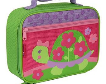 Personalized Stephen Joseph Turtle Lunch Box
