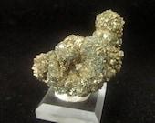 Mineral Specimen - Marcasite crystals - Stony Mountain Quarry, Stony Mountain, Manitoba, Canada - geology - nearearthexploration