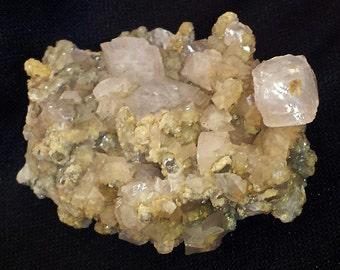 Mineral Specimen - Calcite crystals - Djurkowo Complex, Laki Obshtina, Plovdiv Oblast, Bulgaria  - geology - nearearthexploration