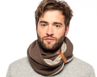 Scarf, Infinity Scarf, Men's Accessories, Mens Scarves, For Him