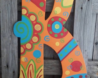Funky and fun door hanger