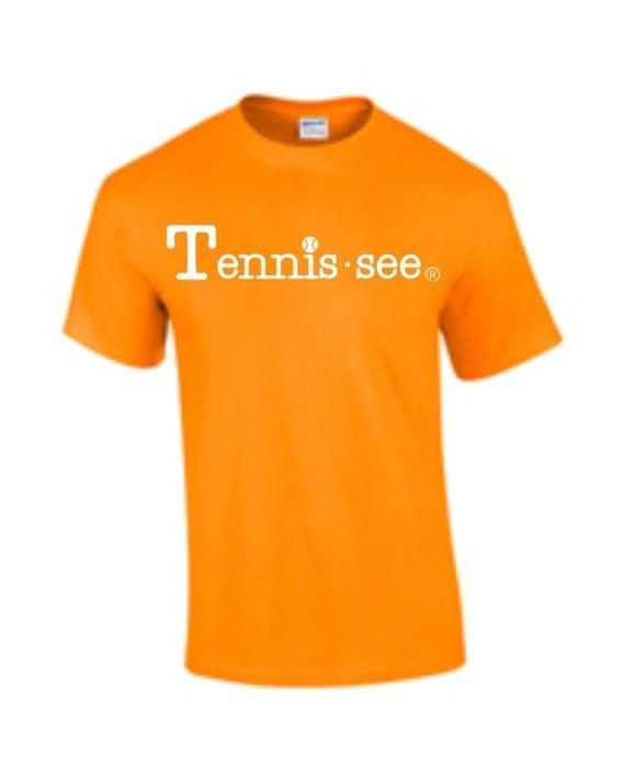 Tennessee Tshirt, Orange Tshirt, Tennis.see® Tshirt, Tennessee Shirt, Orange Tennis Shirt, Orange Tennessee Top, Tennis.see® Shirt, Unisex