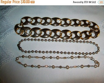 50% OFF Vintage jewelry lot, Vintage Necklace Lot, vintage necklaces for wear or craft