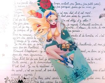 Rikku glossy bookmark // Final Fantasy X fanart