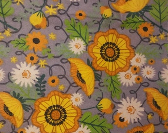 sunny flower unpaper towel set, cloth towels, paperless, eco friendly, dish towels, kitchen towels, sunflower