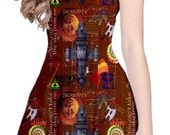 Serenity Firefly Reversible Dress