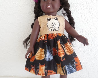 18 inch Doll Dress fits American Girl Dolls