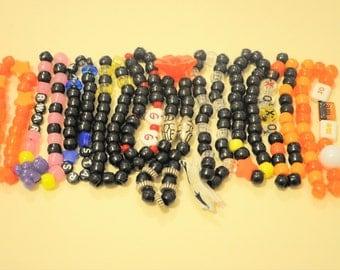 10 Single Kandi Bracelets Plus Gifts