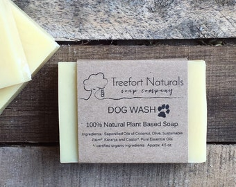 Dog Wash Soap - Handmade soap, Cold Process, All Natural soap, vegan soap, essential oils, pet soap